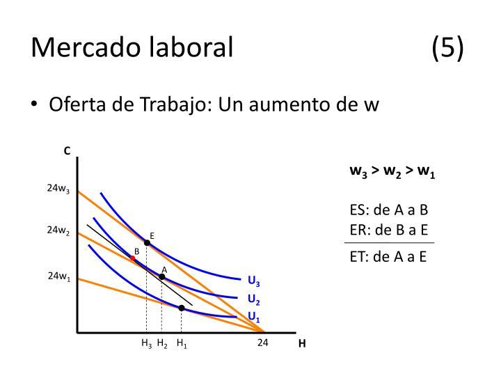 Mercado laboral(5)