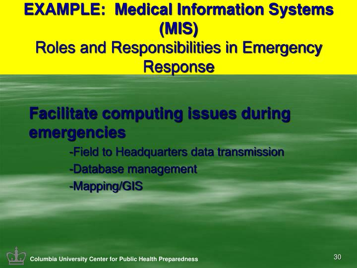 the responsibilities of an emergency medical technician emt during an emergency response Why the emt resume is important when applying for a position as an emergency medical technician (emt) a strong emt resume is very important this is especially true for an emt resume with no experience in the field (entry-level emt resume.
