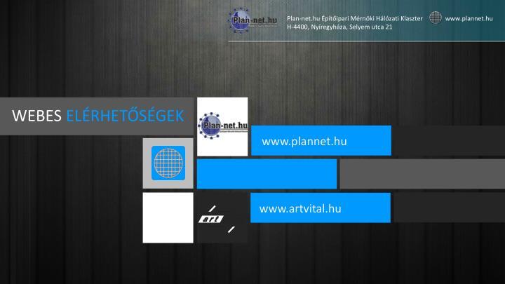 Plan-net.hu Építőipari Mérnöki Hálózati Klaszter