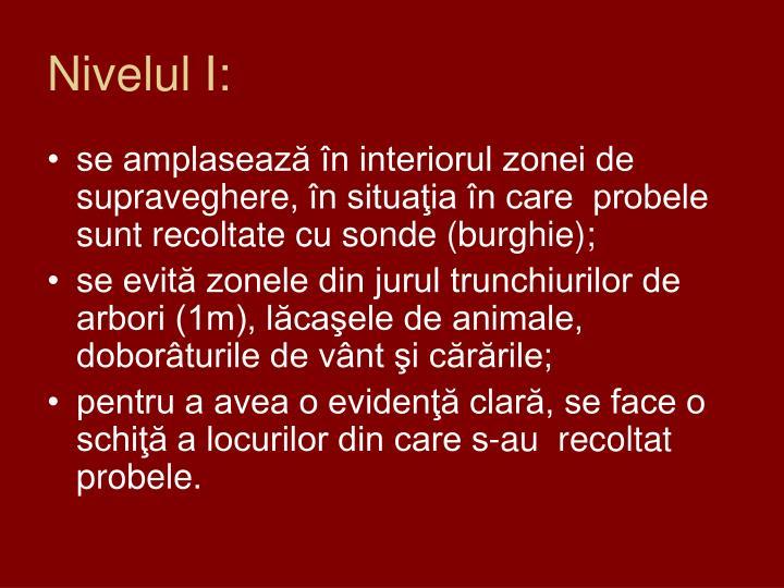 Nivelul I: