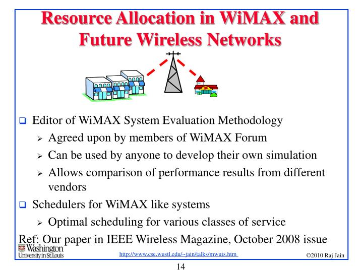 Research paper on Challenges in WiMAX systems