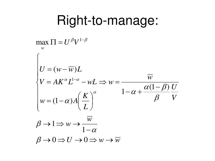 Right-to-manage:
