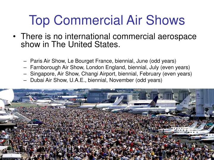 Top Commercial Air Shows