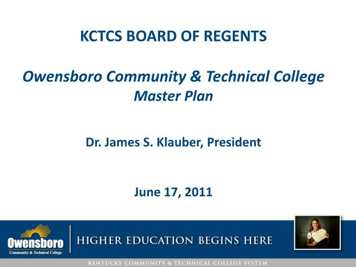KCTCS BOARD OF REGENTS