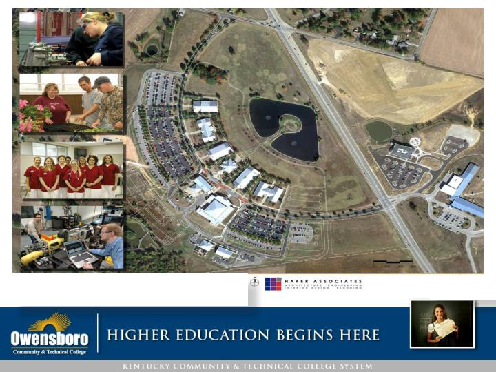 Kctcs board of regents owensboro community technical college master plan