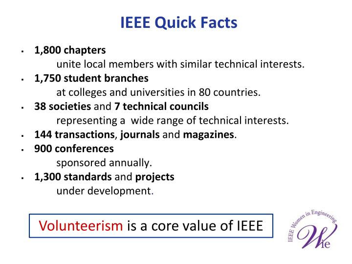 IEEE Quick Facts