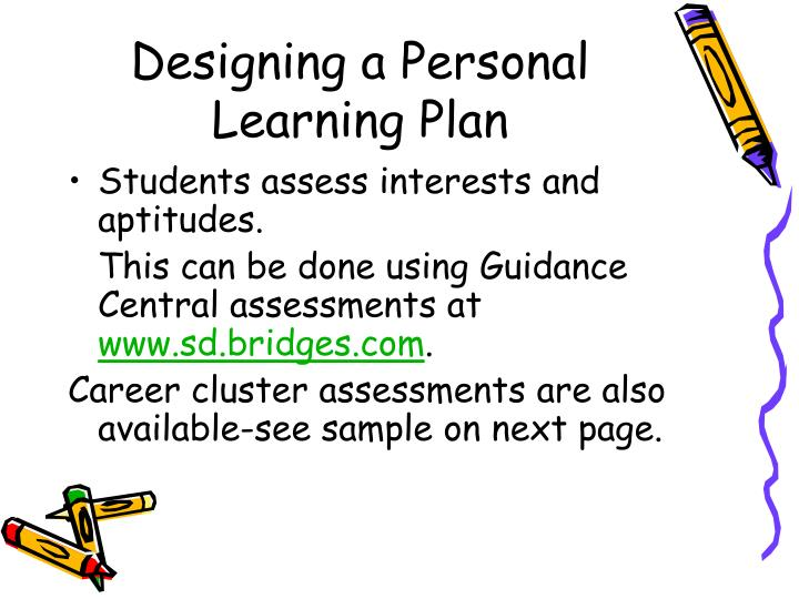 Designing a Personal Learning Plan