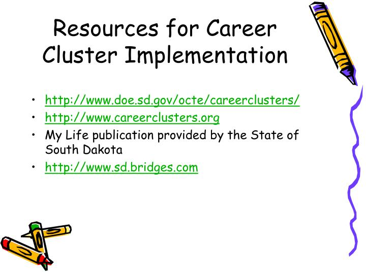 Resources for Career Cluster Implementation
