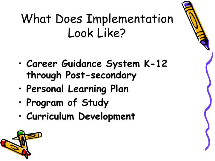 What Does Implementation Look Like?