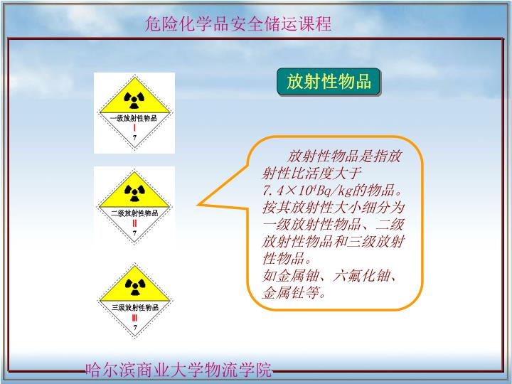放射性物品