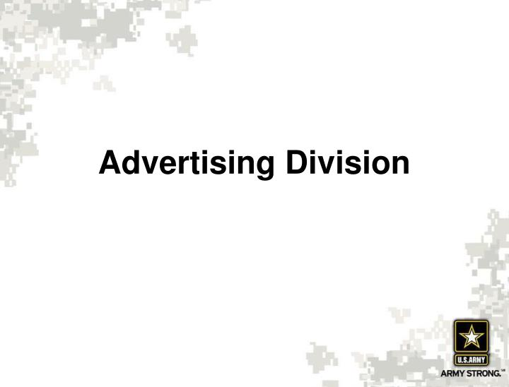 Advertising Division