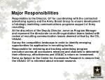 major responsibilities1