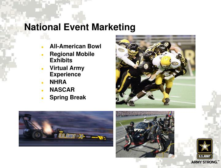 National Event Marketing