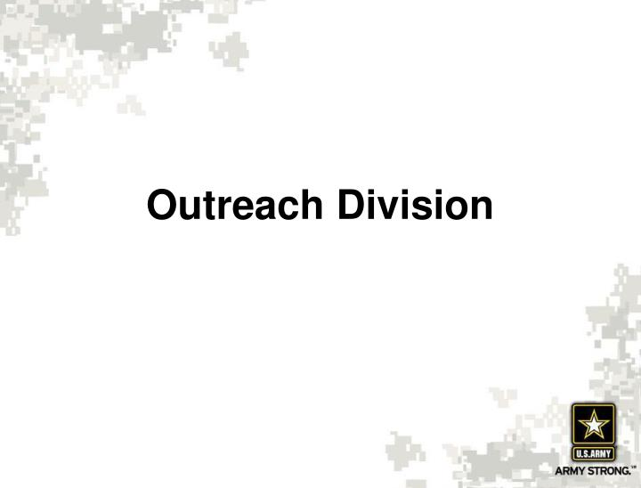 Outreach Division
