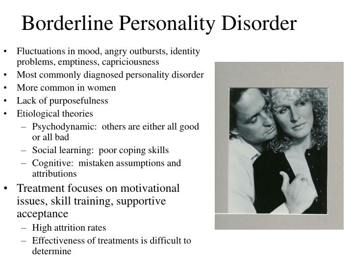 Personality disorder traits