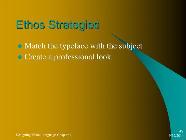 Ethos Strategies
