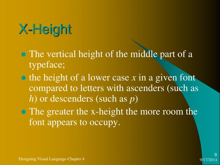 X-Height
