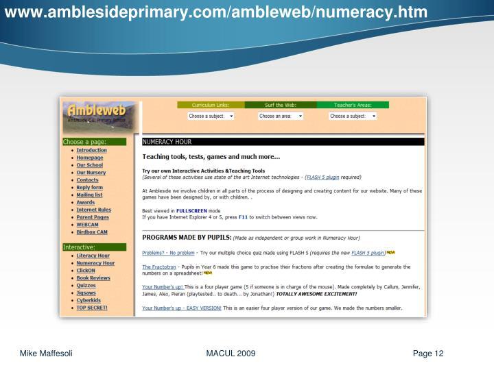 www.amblesideprimary.com/ambleweb/numeracy.htm