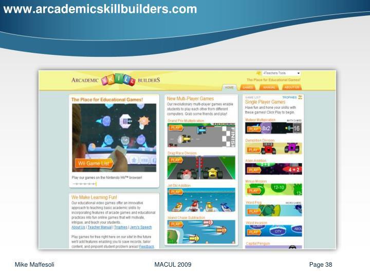 www.arcademicskillbuilders.com