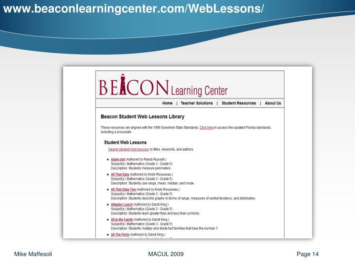 www.beaconlearningcenter.com/WebLessons/