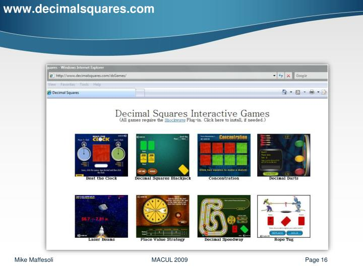 www.decimalsquares.com