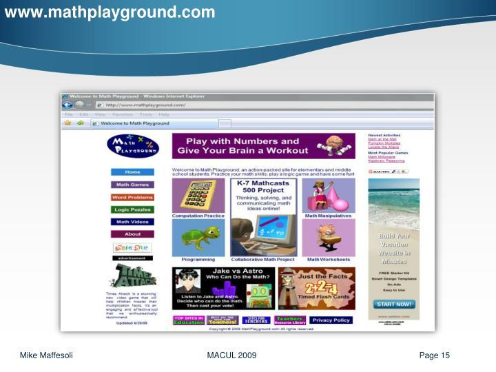 www.mathplayground.com