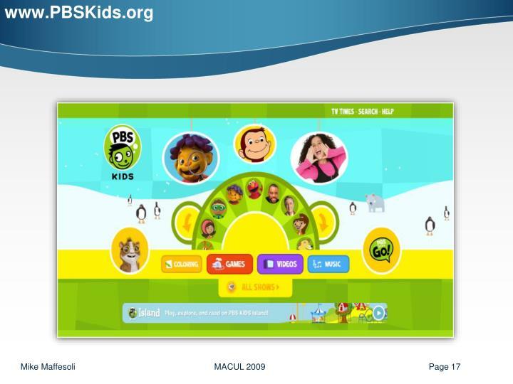 www.PBSKids.org