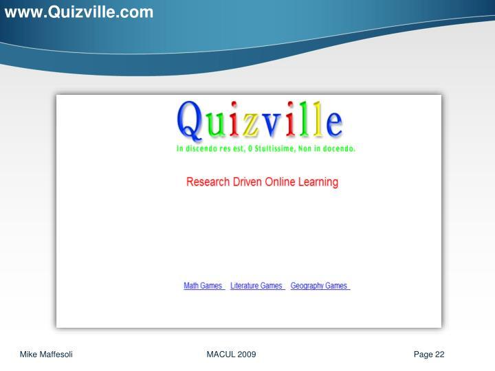 www.Quizville.com