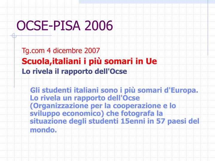 OCSE-PISA 2006