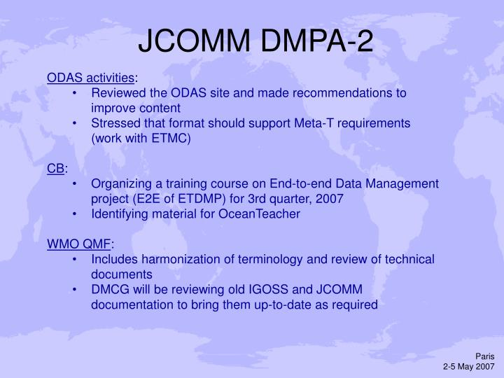 JCOMM DMPA-2