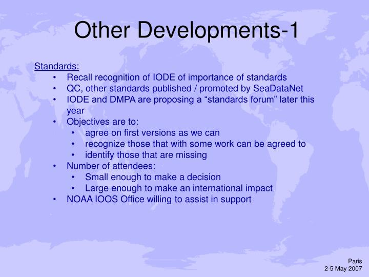 Other Developments-1