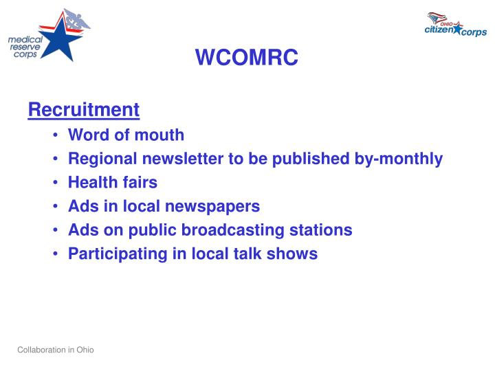 WCOMRC