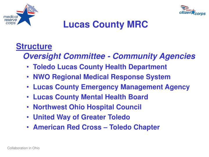 Lucas County MRC