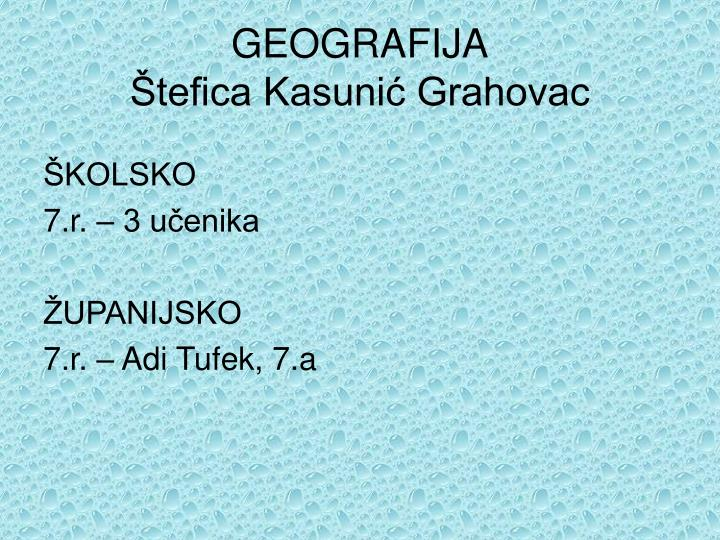 GEOGRAFIJA
