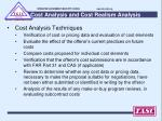 cost analysis and cost realism analysis1
