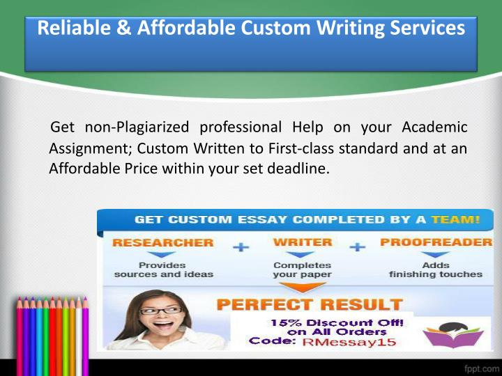 g for custom essay