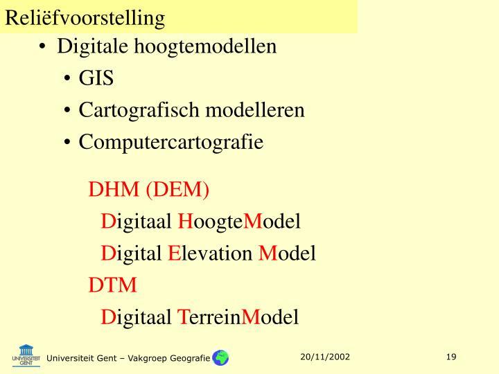 Digitale hoogtemodellen
