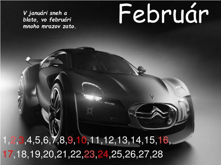 Február