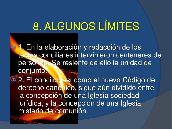 8. ALGUNOS LÍMITES