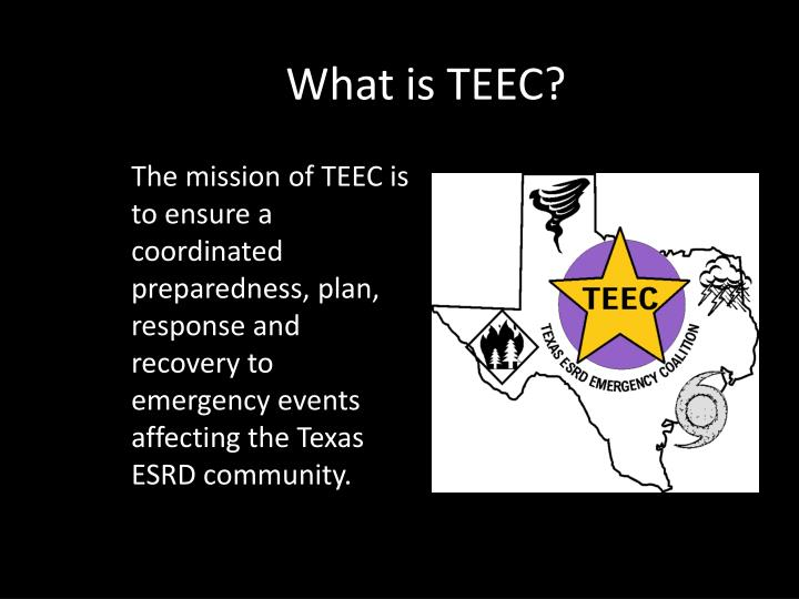 What is TEEC?