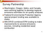 survey partnership