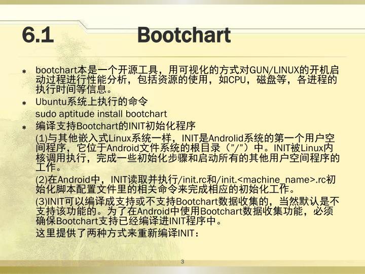 6.1               Bootchart