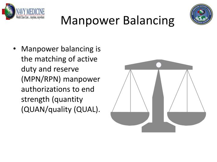 Manpower Balancing