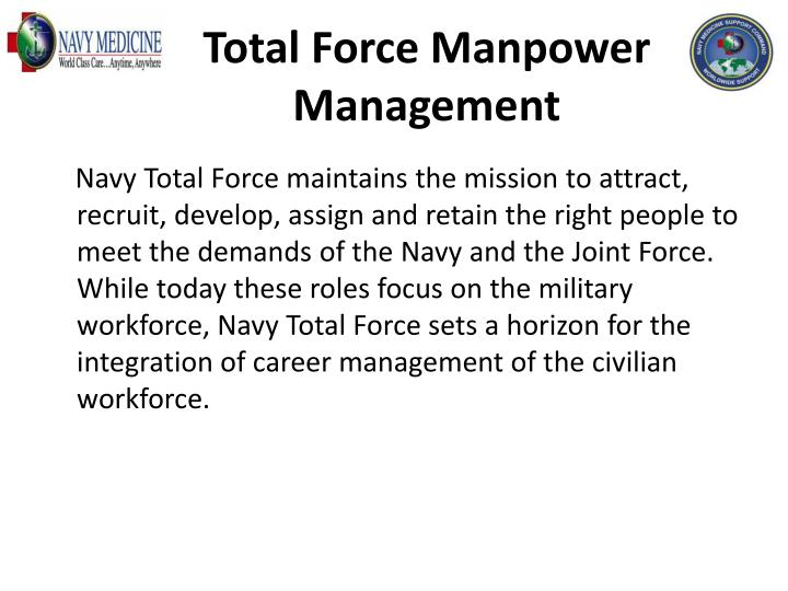 Total Force Manpower Management