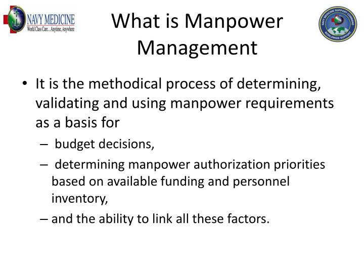 What is manpower management