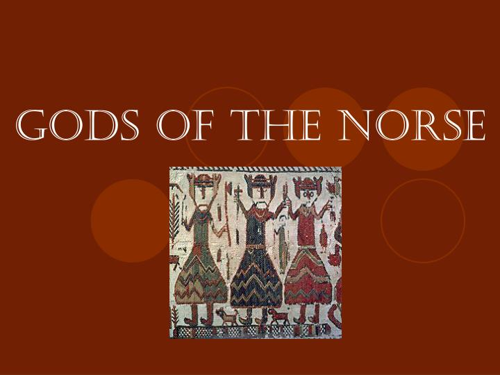GODS of the NORSE