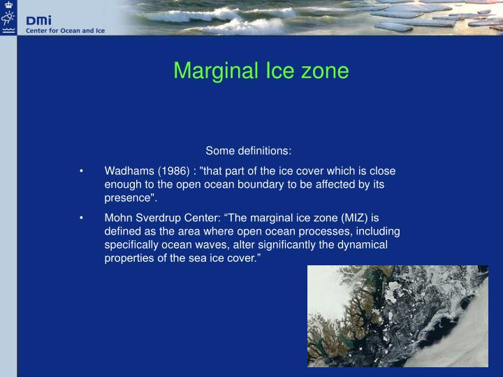 Marginal Ice zone
