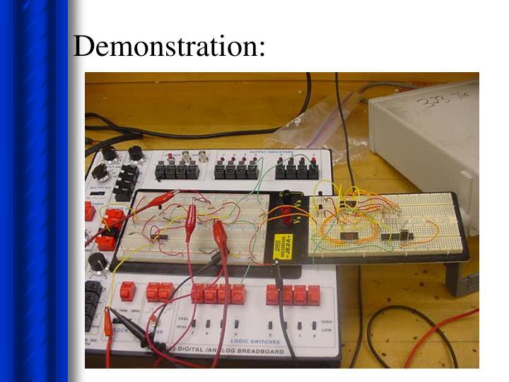 Demonstration: