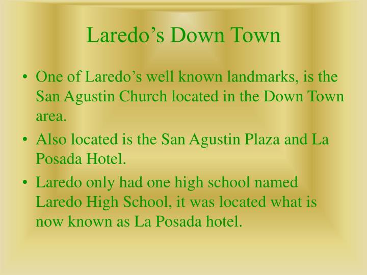 Laredo's Down Town