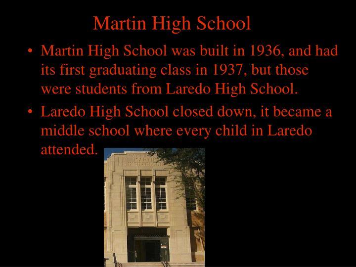 Martin High School